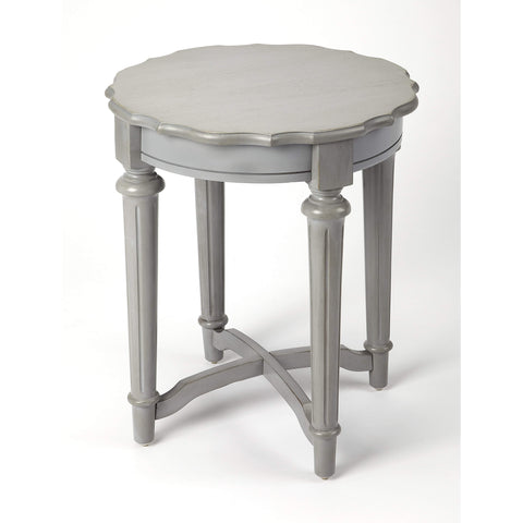 Butler Kendrick Gray End Table 9357329-ACCENT TABLE-Floor Mirror Gallery
