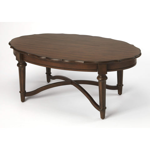 Butler Kendrick Cocoa Coffee Table 9358275-Cocktail Tables-Floor Mirror Gallery