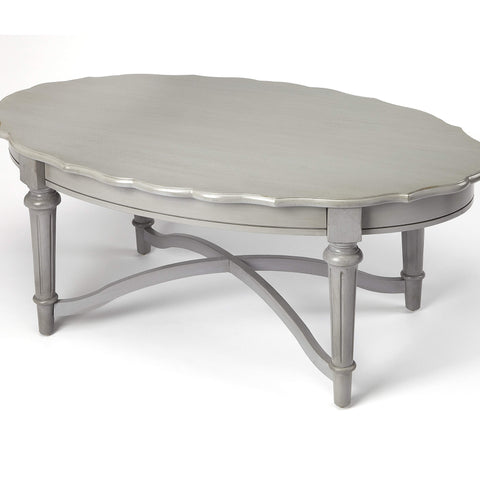 Butler Kendrick Gray Coffee Table 9358329-Cocktail Tables-Floor Mirror Gallery