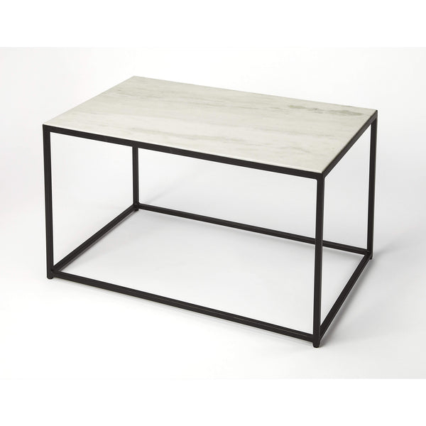 Butler Phinney Marble & Metal Coffee Table 9386389-Cocktail Tables-Floor Mirror Gallery