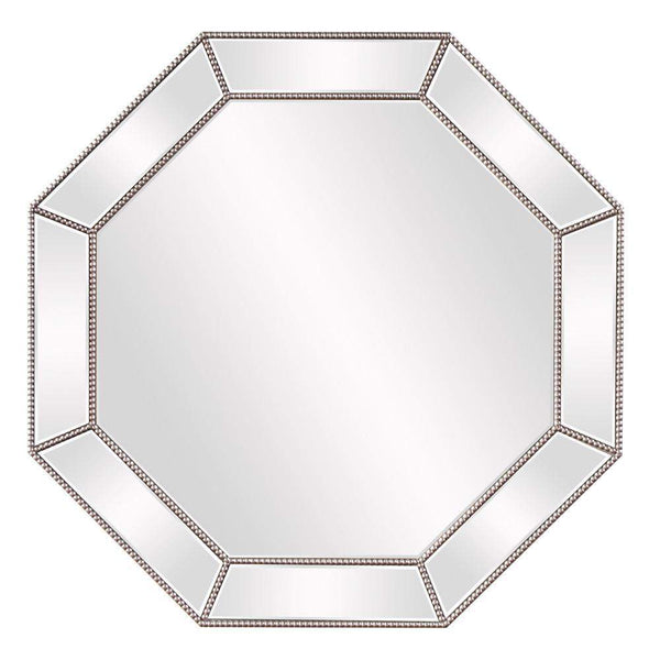 Howard Elliott Harlow Octagonal Mirror 39H x 39W x 2D - 99095-Wall Mirror-Floor Mirror Gallery