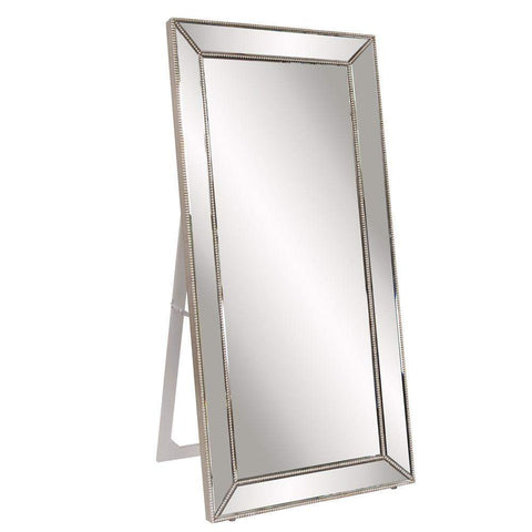 Howard Elliott Titus Mirrored Standing Mirror 70H x 30W x 20D - 99129-Wall Mirror-Floor Mirror Gallery