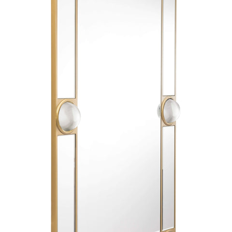 Zuo Modern Rectangle Lucite Mirror Mirror & Lucite A10433-Wall Mirror-Floor Mirror Gallery