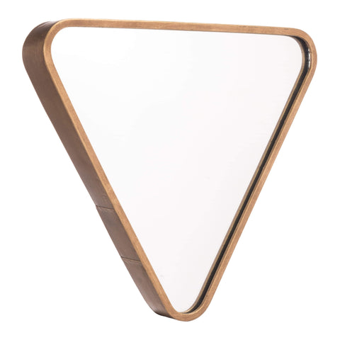 Zuo Modern Triangle Mirror Gold A10633
