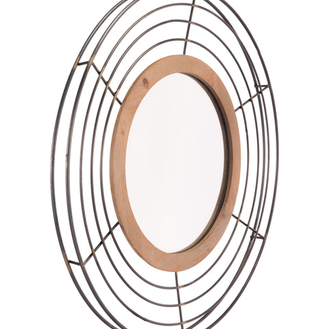 Zuo Modern Tron Mirror Antique A10698-Wall Mirror-Floor Mirror Gallery
