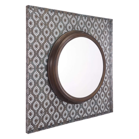 Zuo Modern Plaque Mirror Antique Metal A10847-Wall Mirror-Floor Mirror Gallery
