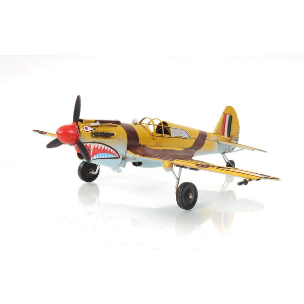 1941 Curtiss Hawk 81A 1:36 Model AJ004 by Old Modern Handicrafts-Models-Floor Mirror Gallery
