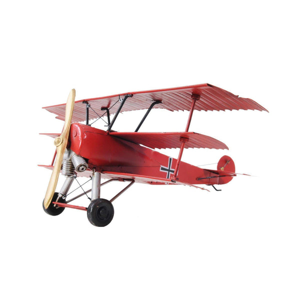 1917 Red Baron Fokker Triplane Model AJ005 by Old Modern Handicrafts-Models-Floor Mirror Gallery