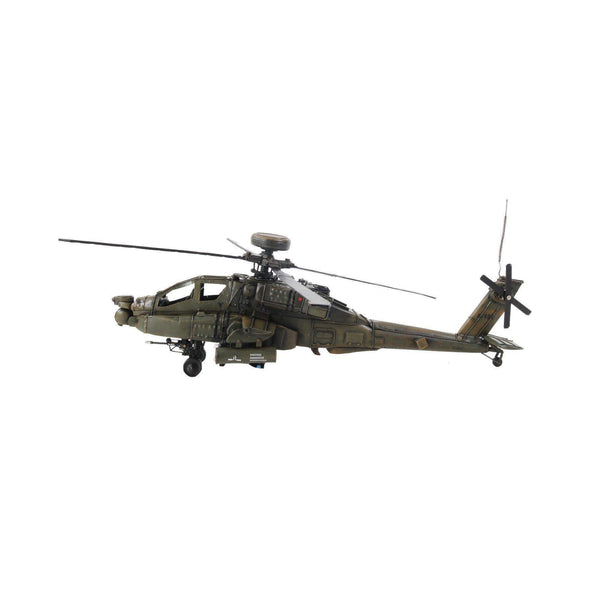 Ah-64 Apache 1:24 Model AJ008 by Old Modern Handicrafts-Models-Floor Mirror Gallery