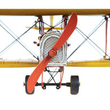 1918 Yellow Curtiss JN-4 1:24 Model AJ015 by Old Modern Handicrafts-Models-Floor Mirror Gallery