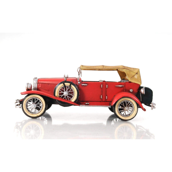1933 Red Duesenberg J 1:12 Model AJ026 by Old Modern Handicrafts-Models-Floor Mirror Gallery