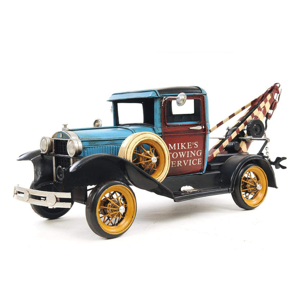 1931 Ford Model A Tow Truck 1:12 Model AJ028 by Old Modern Handicrafts-Models-Floor Mirror Gallery