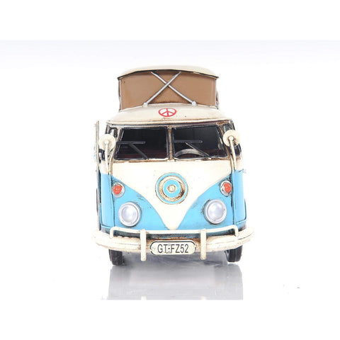 Volkswagen Camp Bus Model AJ036 by Old Modern Handicrafts-Models-Floor Mirror Gallery