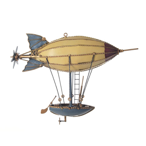 Steampunk Airship Model AJ062 by Old Modern Handicrafts-Models-Floor Mirror Gallery