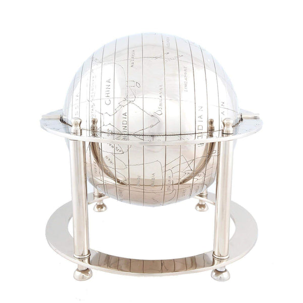 Aluminium Globe Model AK015 by Old Modern Handicrafts-Models-Floor Mirror Gallery