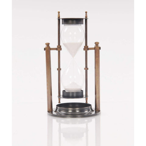 Brass Revolving Sandtimer Model AK026 by Old Modern Handicrafts-Models-Floor Mirror Gallery