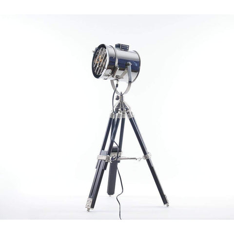 Stainless Steel Table Lamp Model AL007 by Old Modern Handicrafts-Models-Floor Mirror Gallery