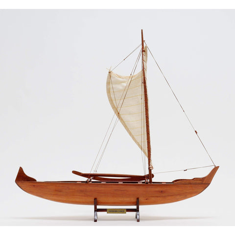 Hawaiian Canoe Model B012 by Old Modern Handicrafts-Models-Floor Mirror Gallery