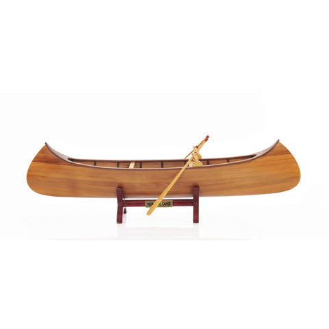 Indian Girl Canoe Model B013 by Old Modern Handicrafts-Models-Floor Mirror Gallery