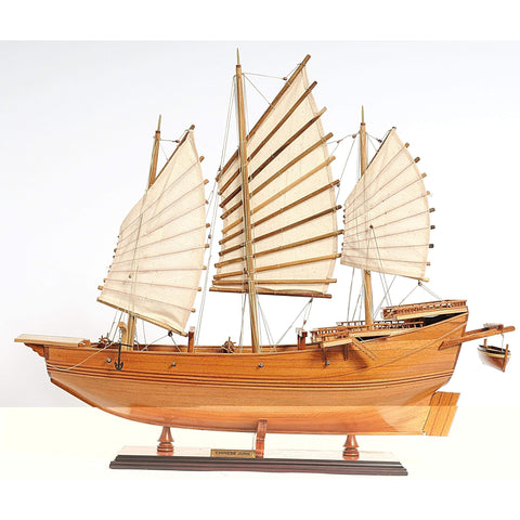Chinese Junk Model B030 by Old Modern Handicrafts-Models-Floor Mirror Gallery
