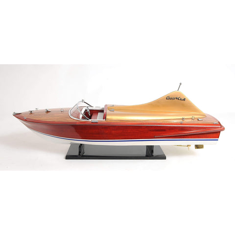Chris Craft Cobra Painted Model B071 by Old Modern Handicrafts-Models-Floor Mirror Gallery