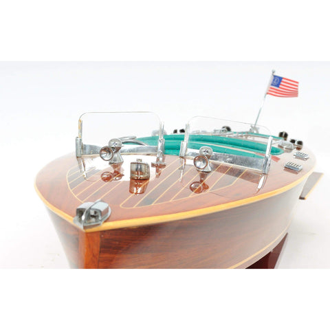 Chris Craft Triple Cockpit Medium Model B190 by Old Modern Handicrafts-Models-Floor Mirror Gallery