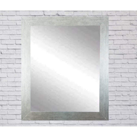 "Brandt Works Stainless Grain Wall Mirror BM004L3 32""x55""-Wall Mirror-Floor Mirror Gallery"
