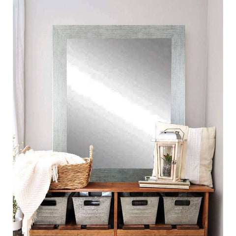 "Brandt Works Stainless Grain Wall Mirror BM004M2 32""x36""-Wall Mirror-Floor Mirror Gallery"
