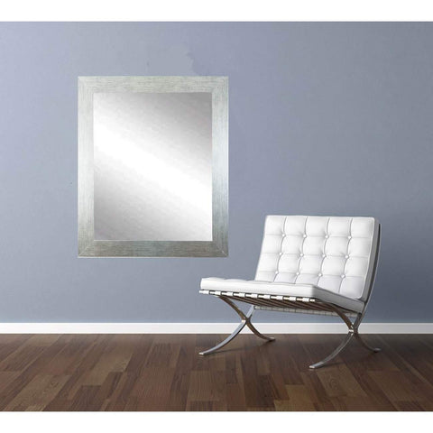 "Brandt Works Stainless Grain Wall Mirror BM004M3 32""x41""-Wall Mirror-Floor Mirror Gallery"