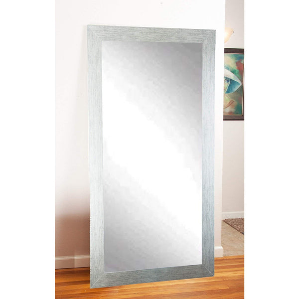 "Brandt Works Stainless Grain Floor Mirror BM004TS 32""x66""-Floor Mirror-Floor Mirror Gallery"