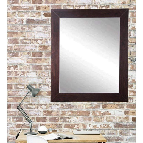 "Brandt Works Walnut Wall Mirror BM006L2 32""x50""-Wall Mirror-Floor Mirror Gallery"