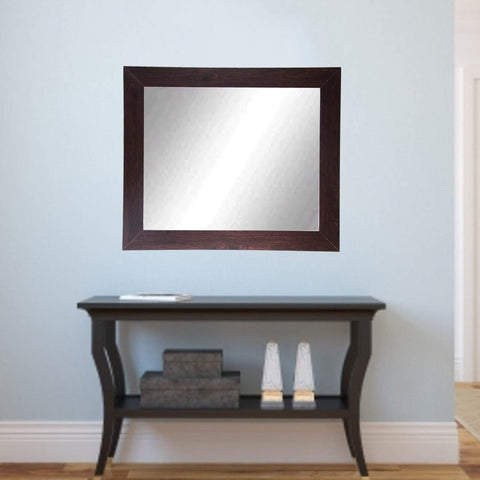 "Brandt Works Walnut Wall Mirror BM006M2 32""x36""-Wall Mirror-Floor Mirror Gallery"