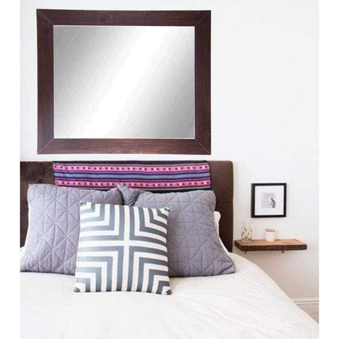 "Brandt Works Walnut Wall Mirror BM006M3 32""x41""-Wall Mirror-Floor Mirror Gallery"