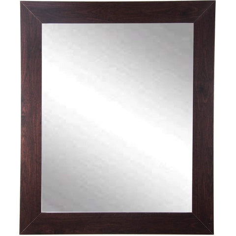 "Brandt Works Walnut Wall Mirror BM006S 22""x32""-Wall Mirror-Floor Mirror Gallery"