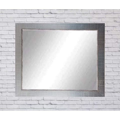 "Brandt Works Silver Lined Wall Mirror BM007L2 31.5""x49.5""-Wall Mirror-Floor Mirror Gallery"