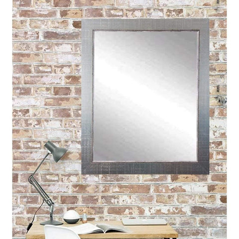 "Brandt Works Silver Lined Wall Mirror BM007L3 31.5""x54.5""-Wall Mirror-Floor Mirror Gallery"