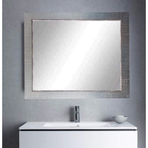 "Brandt Works Silver Lined Wall Mirror BM007L 31.5""x37.5""-Wall Mirror-Floor Mirror Gallery"