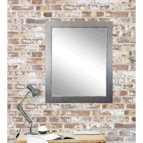 "Brandt Works Silver Lined Wall Mirror BM007M2 31.5""x35.5""-Wall Mirror-Floor Mirror Gallery"