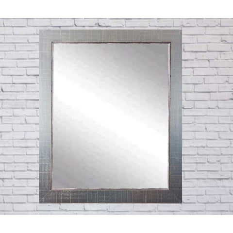 "Brandt Works Silver Lined Wall Mirror BM007M3 31.5""x40.5""-Wall Mirror-Floor Mirror Gallery"