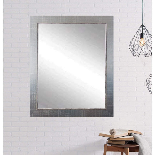 "Brandt Works Silver Lined Wall Mirror BM007M 26.5""x31.5""-Wall Mirror-Floor Mirror Gallery"