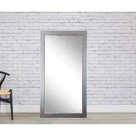 "Brandt Works Silver Lined Floor Mirror BM007TS 31.5""x65.5""-Floor Mirror-Floor Mirror Gallery"