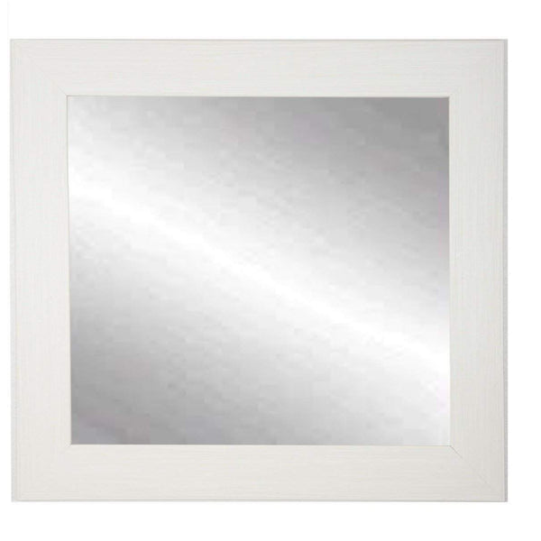 "Brandt Works Oyster Grain Square Wall Mirror BM008SQ 32""x32""-Wall Mirror-Floor Mirror Gallery"