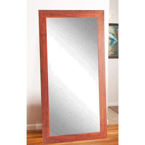 "Brandt Works Canadian Walnut Floor Mirror BM009TS 32""x66""-Floor Mirror-Floor Mirror Gallery"