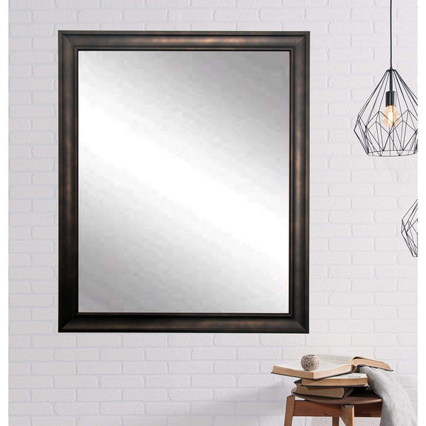 "Brandt Works Clouded Bronze Wall Mirror BM013L3 30""x53""-Wall Mirror-Floor Mirror Gallery"