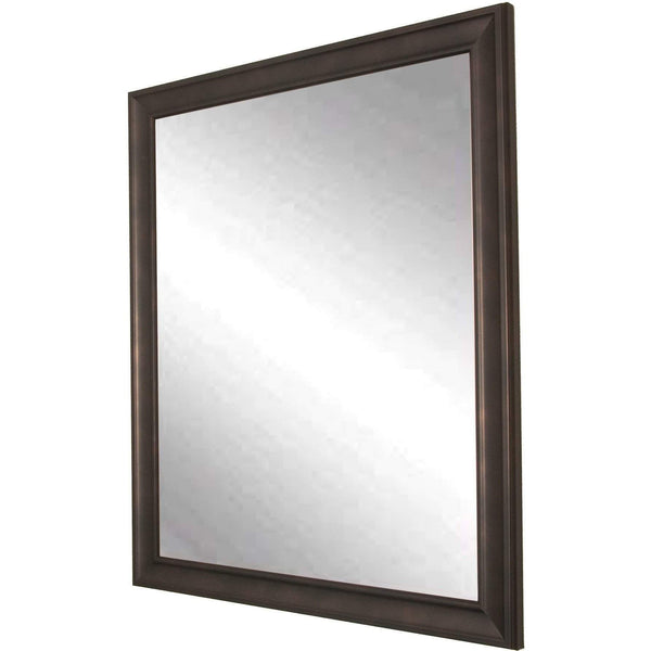 "Brandt Works Clouded Bronze Wall Mirror BM013M 25""x30"" - Floor Mirror Gallery"