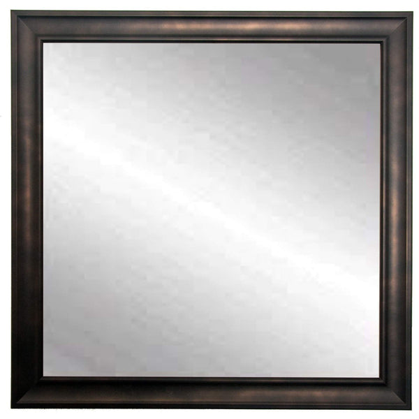 "Brandt Works Clouded Bronze Square Wall Mirror BM013SQ 30""x30"" - Floor Mirror Gallery"