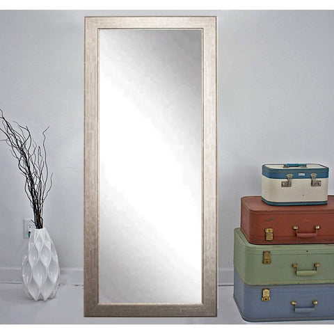 "Brandt Works Subway Silver Floor Mirror BM014TS 32""x66""-Floor Mirror-Floor Mirror Gallery"