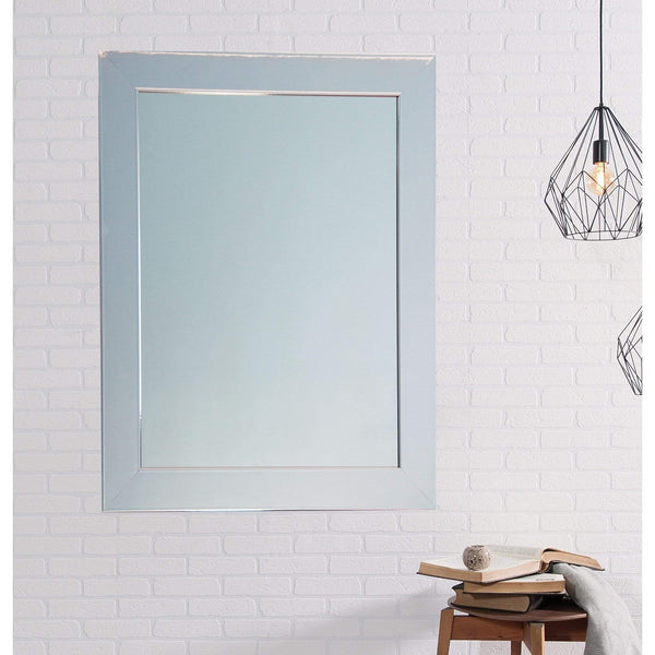 "Brandt Works Chrome Wall Mirror BM015L2 32""x50""-Wall Mirror-Floor Mirror Gallery"