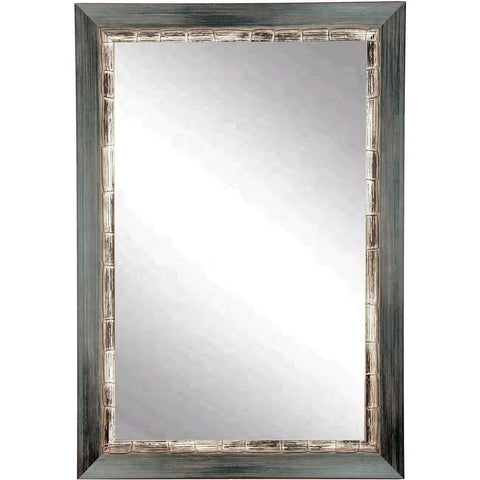 "Brandt Works Weathered Harbor Wall Mirror BM021L2 32""x50""-Wall Mirror-Floor Mirror Gallery"