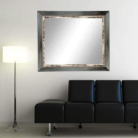 "Brandt Works Weathered Harbor Wall Mirror BM021L3 32""x55""-Wall Mirror-Floor Mirror Gallery"